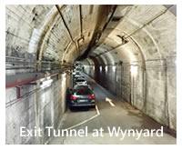 Long Exit Tunnel at Wynyard